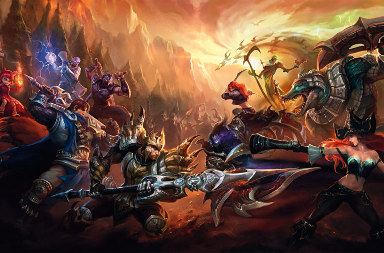 The Art of League of Legends (LOL)
