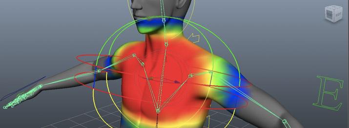 Exemplo de Skinning em modelo 3D